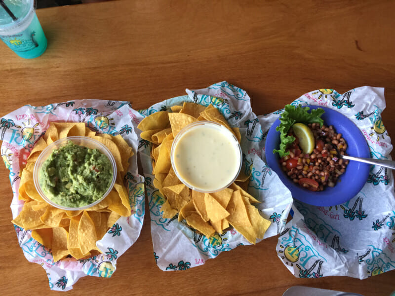 Delicious appetizers at Lulu's Gulf Shores