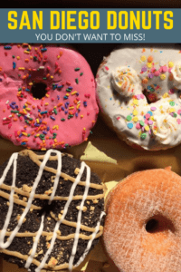 Here is our list of mind-blowing San Diego donuts that you will devour! With donuts as big as your head to unbelievable flavors you will love every bite!