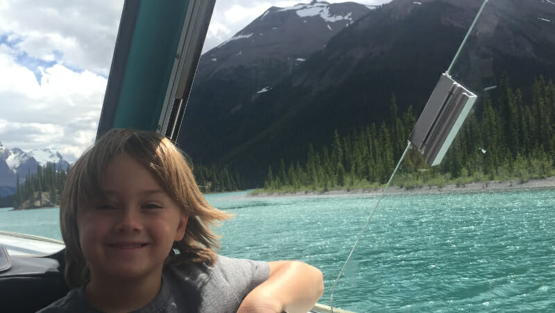 things to do in Jasper National Park - Lake cruise!