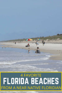 4 beaches in Florida you don't want to miss when visiting the Sunshine State! Florida by far has the best beaches in the US!