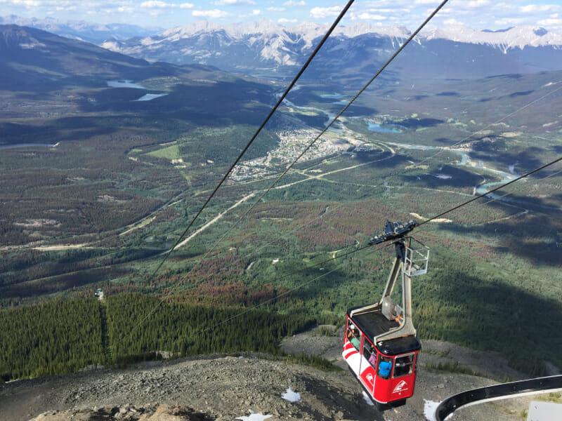 SkyTram in Jasper National Park