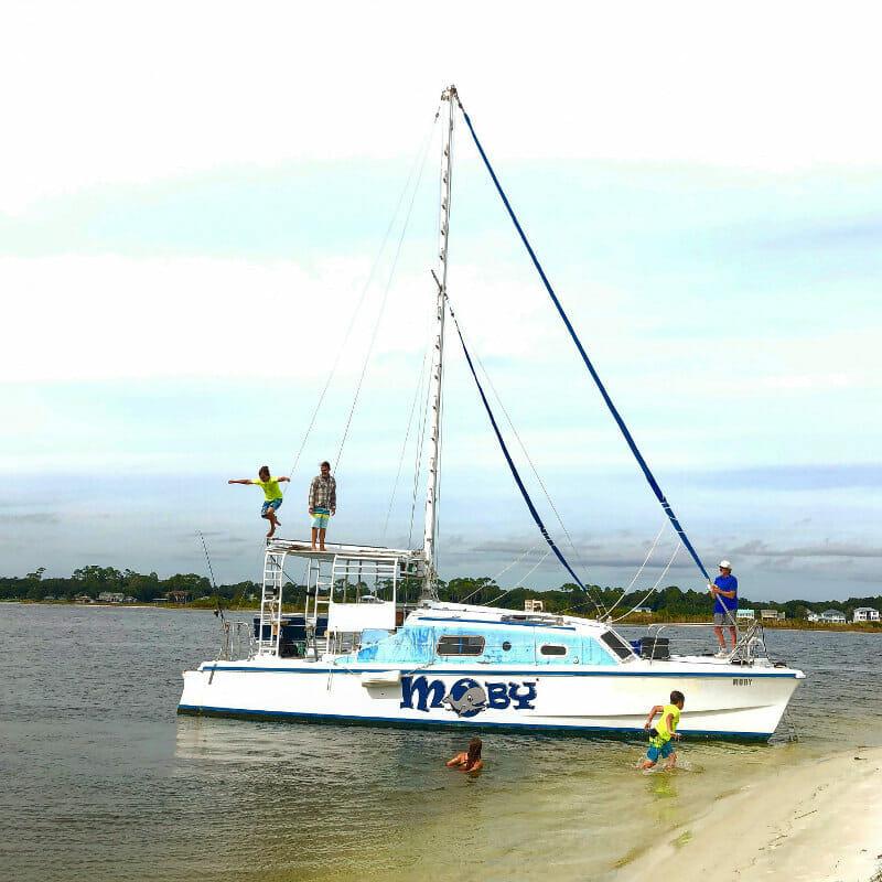 Catamaran trip in Destin, FL