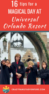 16 tips for a magical day at Universal Orlando Resort! Universal Orlando is an amazing place to visit with kids young and old! The rides are awesome and of course Harry Potter and butter beer!! Here are the ins and outs of how to get the most of your time at Universal.