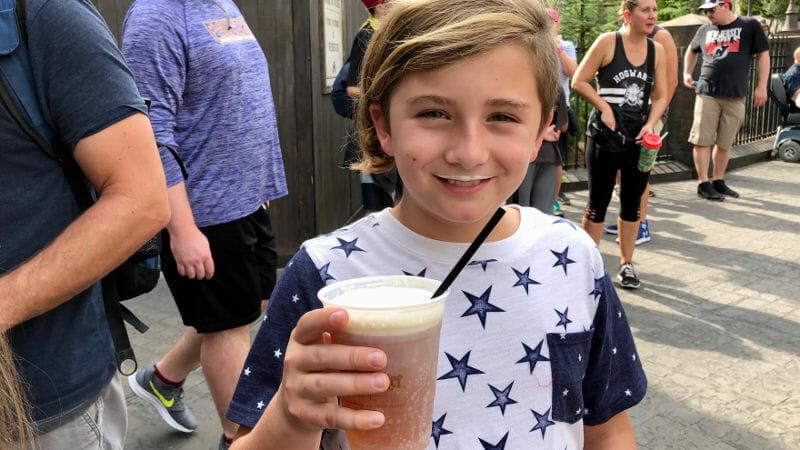 Tips For Orlando Universal Studios - Butter Beer!