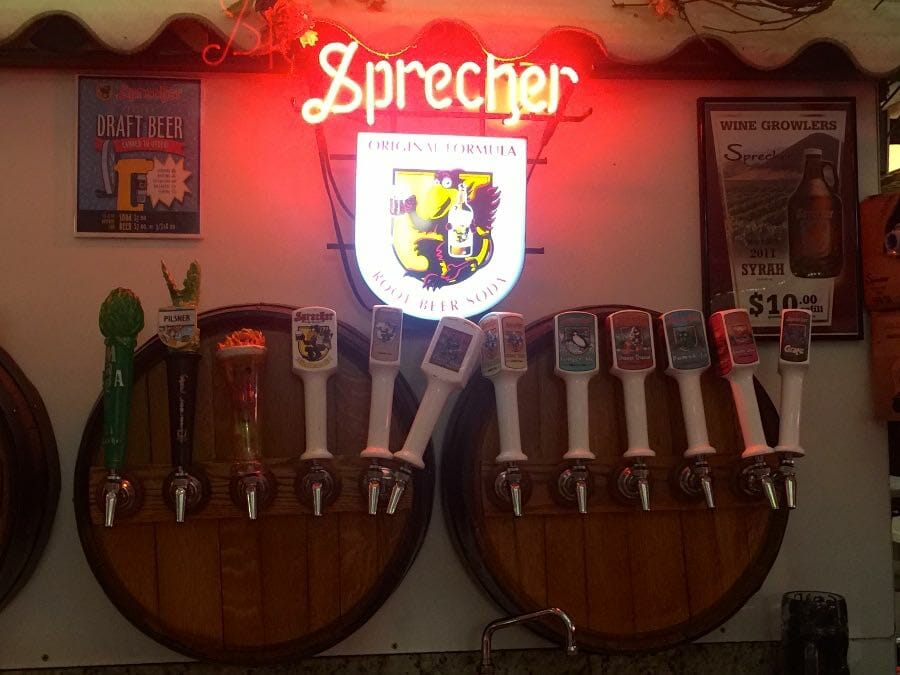 Beer tasting is definitely one of the top things to do in Milwaukee and Sprecher has some of the best.