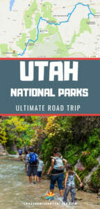 Utah is home to the amazing big five Utah National Parks plus a really cool State Park. Check out this ultimate Utah road trip guide including a map and agenda!