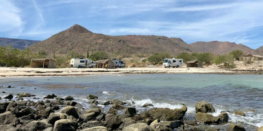 Living In A Camper By The Beach