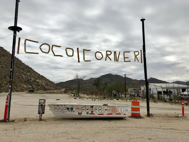 Coco Corner on Hwy 5