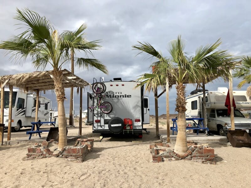 Puertecitos Baja Camping