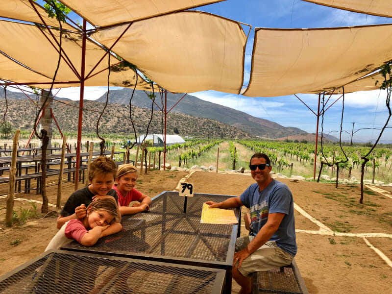 San Diego day trip to Valle De Guadalupe