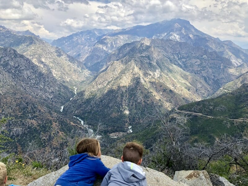 Emerging from the forest to see Kings Canyon was amazing. The scenic byway is definitely something to do while in Kings Canyon National Park