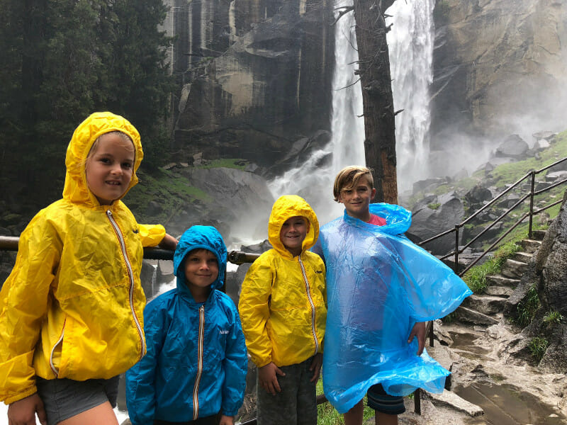 Mist Trail best things to do in yosemite