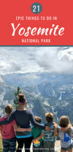 There are so many epic things to do in Yosemite National Park it can be hard to pick where to spend your time! Here is our list of the top 21 things you don't want to miss when you visit with kids! Everything from hiking, camping and tips on how to have a great time!