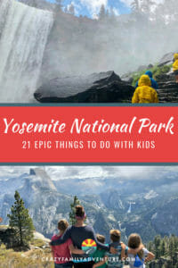 There are so many epic things to do in Yosemite National Park it can be hard to pick where to spend your time! Here is our list of the top 21 things you don't want to miss when you visit with kids! Everything from hiking, camping and tips on how to have a great adventure and fun time with your family.