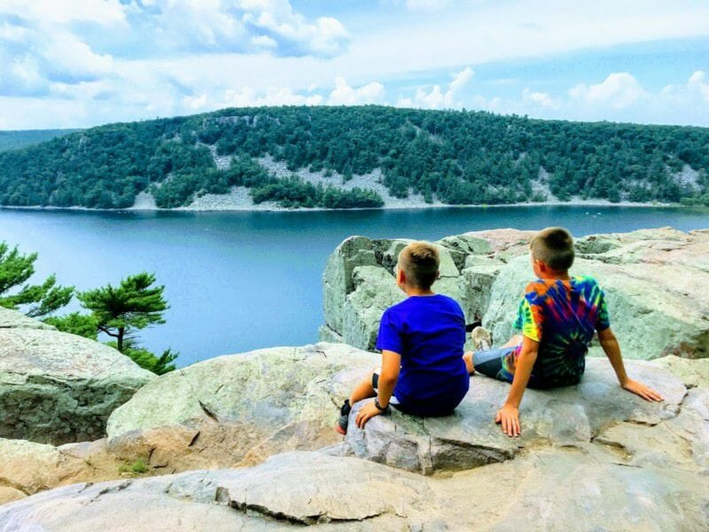 Devil's Lake State Park Camping in Wisconsin