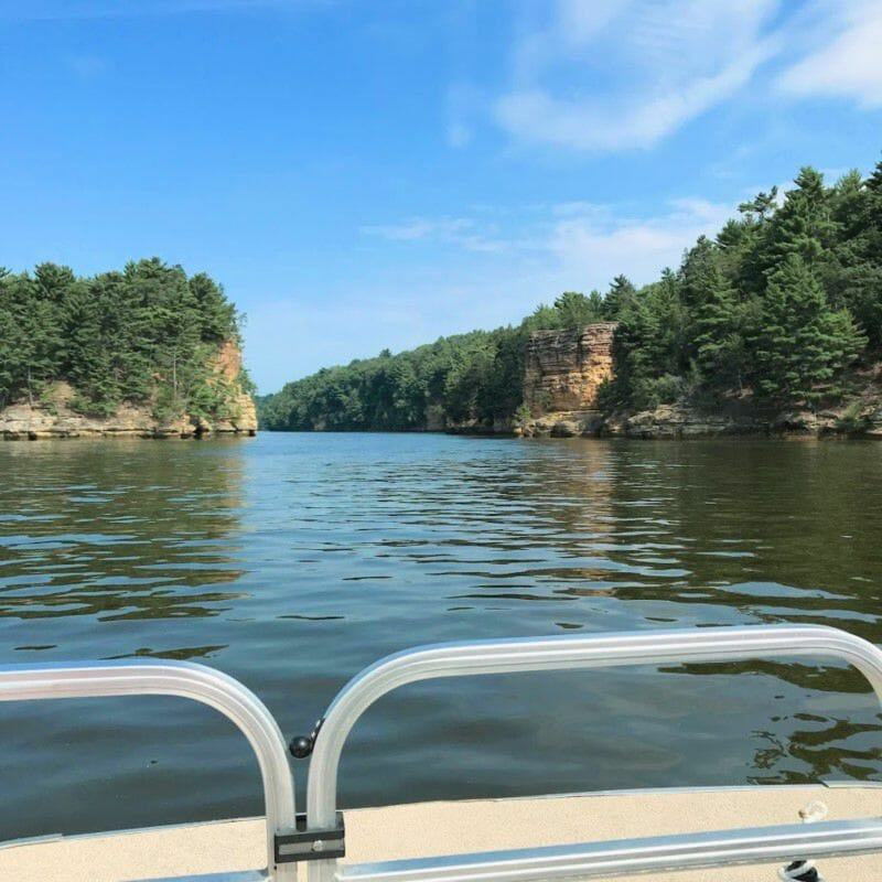 Boat Life - Camping In Wisconsin