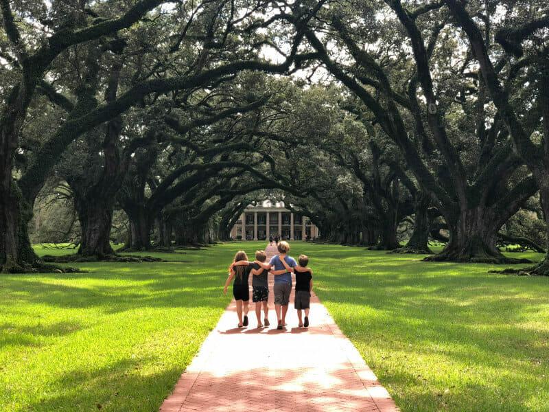 Oak Alley Plantation best plantation tour new orleans