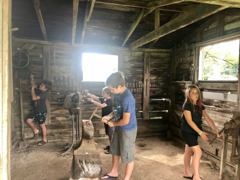 hands on activities at the plantations