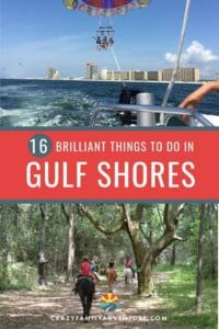 16 Brilliant Things To Do In Gulf Shores, Alabama from Alligators to Dolphins and Castles and Farms this is your complete guide to a great time!