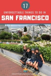 There are so many unforgettable things to do in San Francisco with kids including lots of can't miss things just outside of the city. Here are our recommendations on 17 epic family friendly activities!