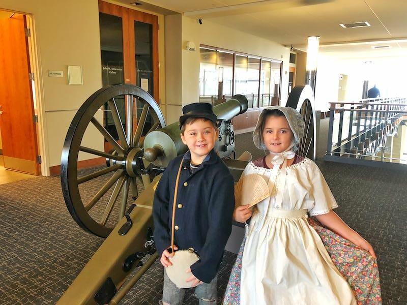 Civil War Museum dressup