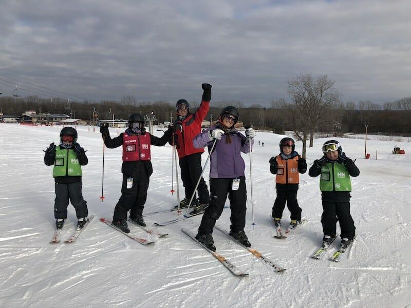 Skiing in Wisconsin