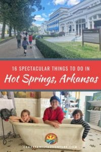 There are so many cool things to do in Hot Springs, Arkansas! When we were heading in I started to do research on the area and was pleasantly surprised by all the fun things we could do with our kids.