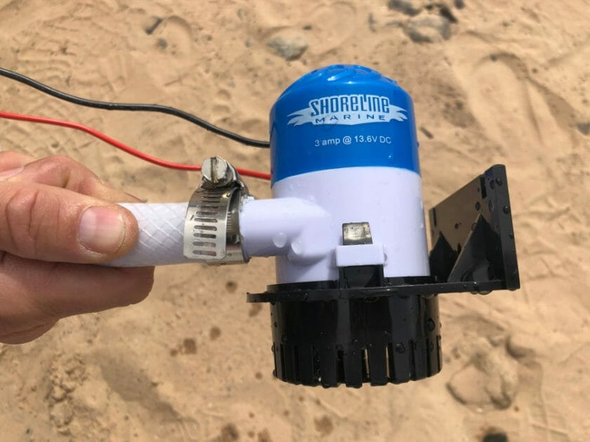 Bilge Pump with Hose Connection