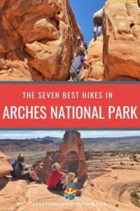 Arches National Park is an amazing park with over 2,000 natural arches to view. Take a look at our picks for the 7 Arches National Park hikes you don't want to miss!