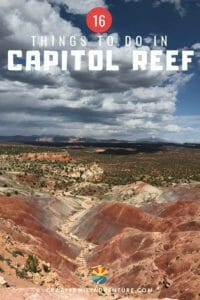 We love hiking in Capitol Reef! It is an awesome place and in this post we share 8 of the best hikes in Capitol Reef National Park!