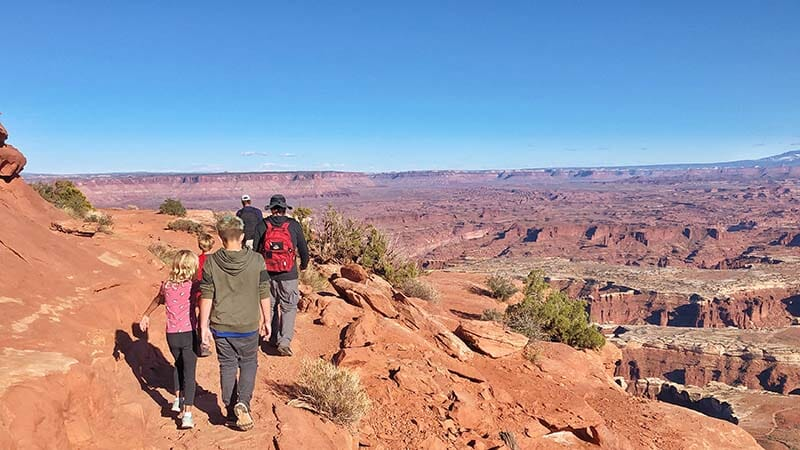 Grand View Point Overlook - Canyonlands