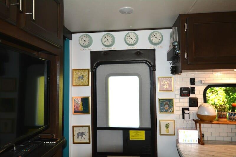 RV Door area