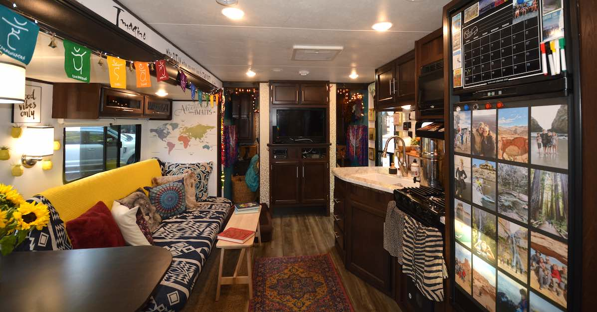 2 Week Complete Rv Remodel Before And After Video Included