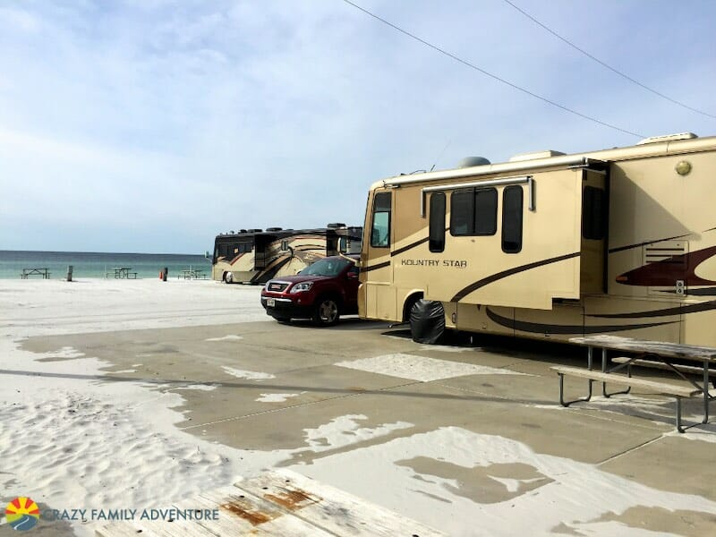 Camp Gulf RV Park is perfect for beach camping in Destin!