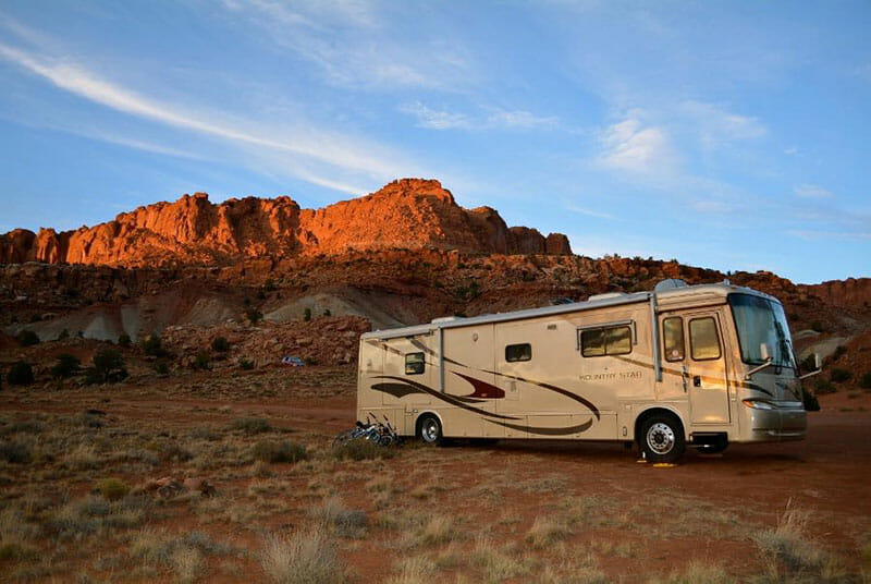 Camping by Capitol Reef