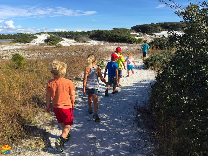 There is even some Hiking to do not far from Destin!