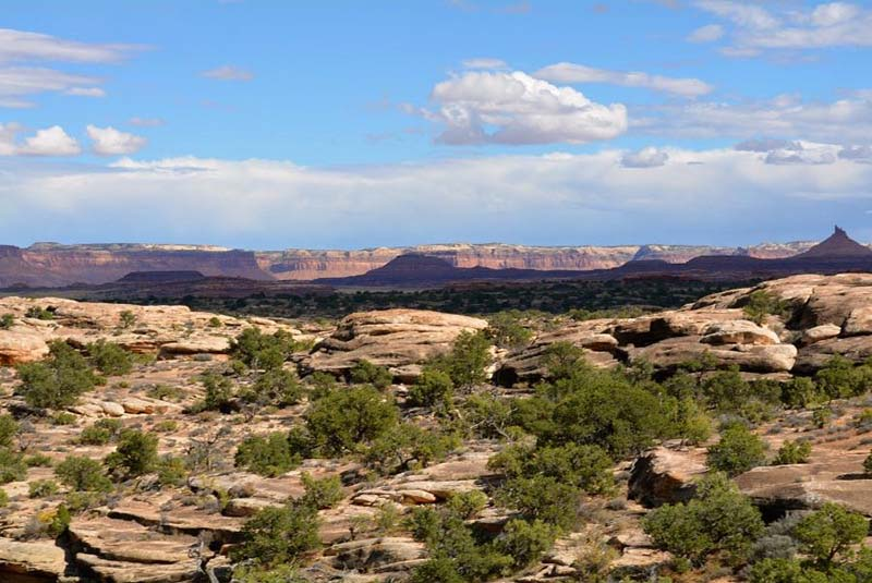 Best hikes in Canyonlands - Shafer Canyon Overlook