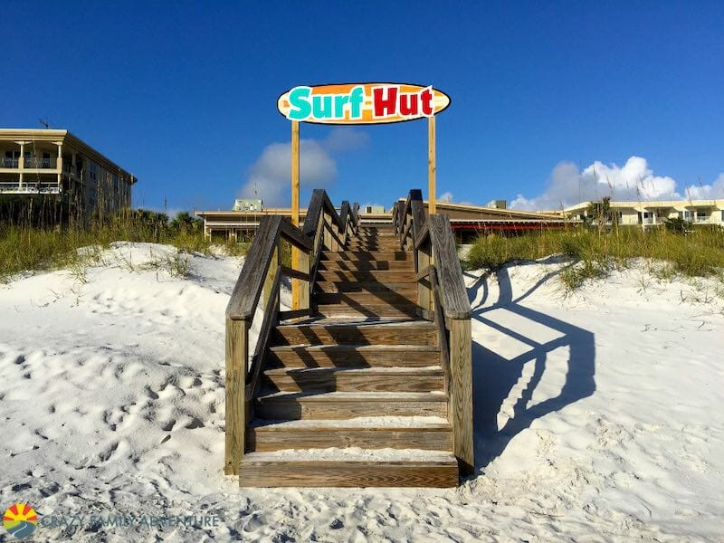 Surf Hut is one of our favorite restaurants in Destin, FL.