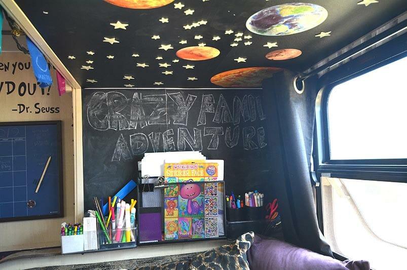 Travel Trailer art station