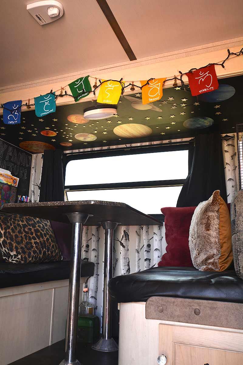 travel trailer solar system ceiling