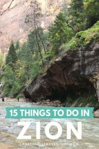 This guest post goes over 15 Awesome things to do in Zion National Park. Zion is a busy, but gorgeous park and we are sure you will love this list!