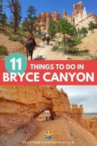 Check out this great guest post on the top 11 Awesome Things To Do in Bryce Canyon National Park. Enjoy hikes, tours, horseback rides and more!