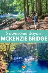 Our post covers what you need to know about the gorgeous hikes, incredible waterfalls and stunning, clear waters of McKenzie River National Recreation Area!