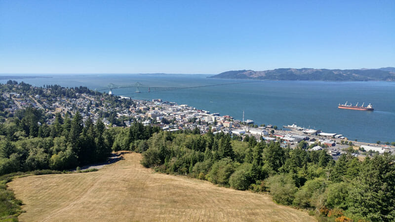 Astoria on the Oregon Coast