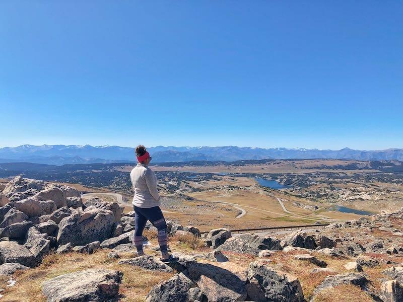 West Summit Overlook Bearthooth Highway