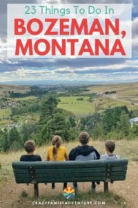 Bozeman, Montana is a beautiful city surrounded by the Rocky Mountains! From rock climbing to museums, great restaurants and shopping there are a lot of great things to do in Bozeman MT!