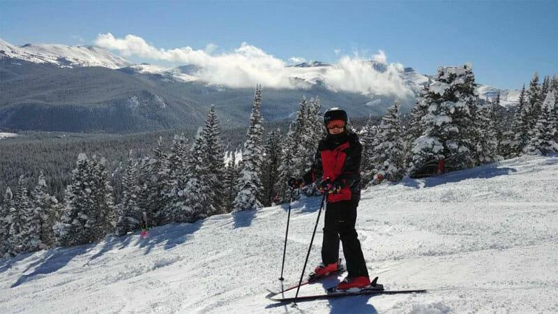 Breckenridge - 1 of the best family ski resorts in Colorado