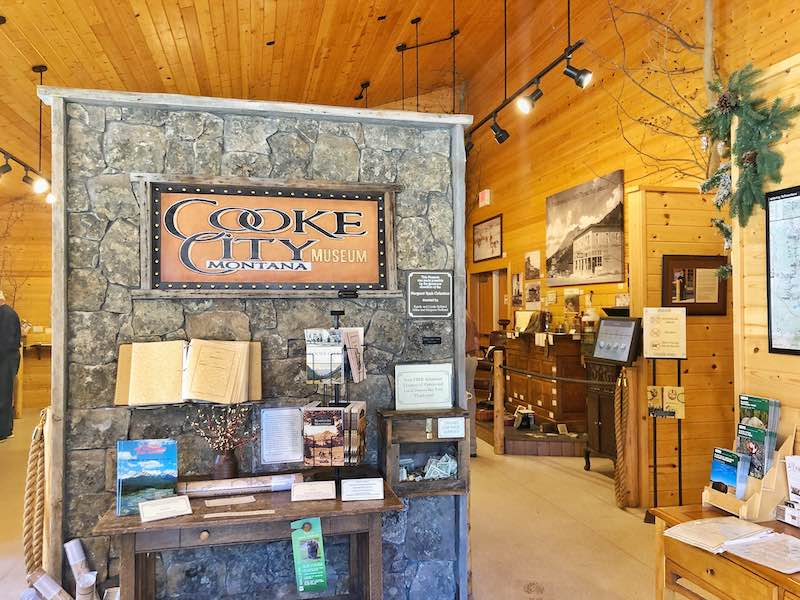 Cooke City Museum by Yellowstone