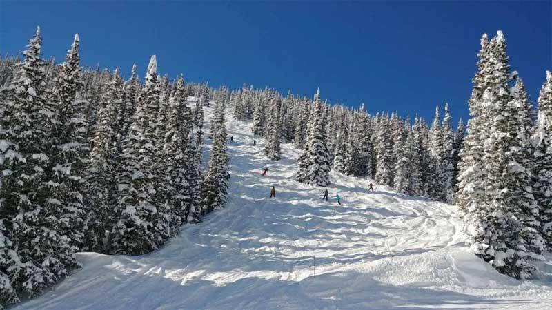 Peak 10 in Breckenridge Skiing in Colorado