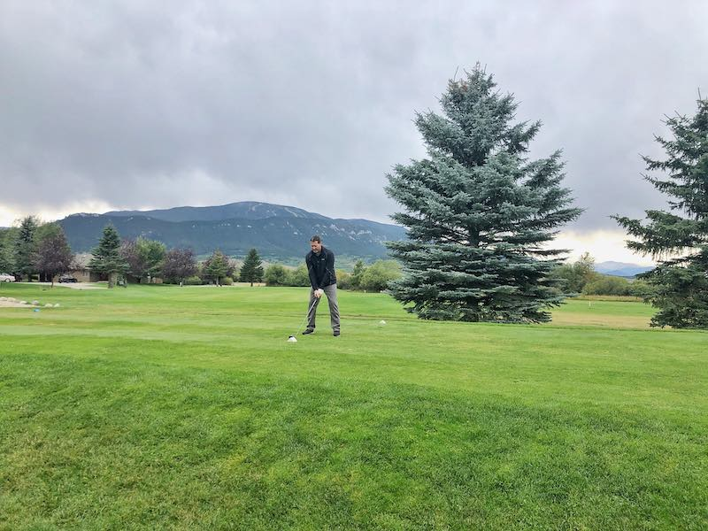 Golfing At Red Lodge Mountain Golf Course